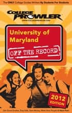 University of Maryland 2012 ebook by Jen Memmolo