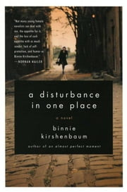 A Disturbance in One Place ebook by Binnie Kirshenbaum