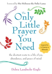 The Only Little Prayer You Need - The Shortest Route to a Life of Joy, Abundance, and Peace of Mind ebook by Debra Landwehr Engle,Dalai Lama