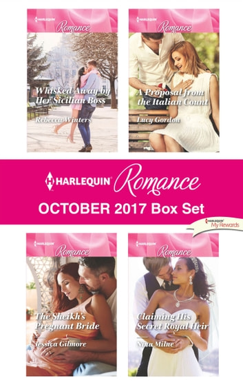 Harlequin Romance October 2017 Box Set - An Anthology ebook by Rebecca Winters,Jessica Gilmore,Lucy Gordon,Nina Milne