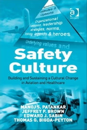 Safety Culture - Building and Sustaining a Cultural Change in Aviation and Healthcare ebook by Edward J. Sabin,Thomas G. Bigda-Peyton,Mr Jeffrey P Brown,Professor Manoj S Patankar