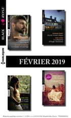 11 romans Black Rose (n° 519 à 522 - Février 2019) ebook by