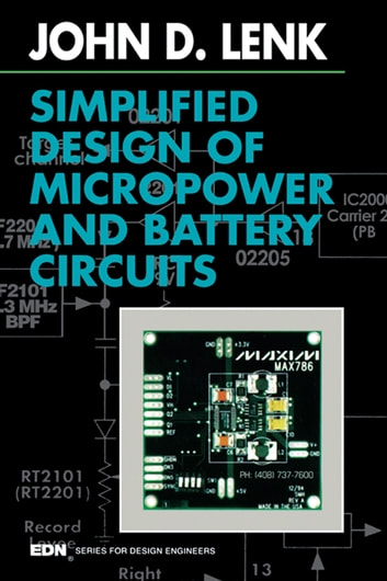 Simplified design of micropower and battery circuits ebook by john simplified design of micropower and battery circuits ebook by john lenk fandeluxe Gallery