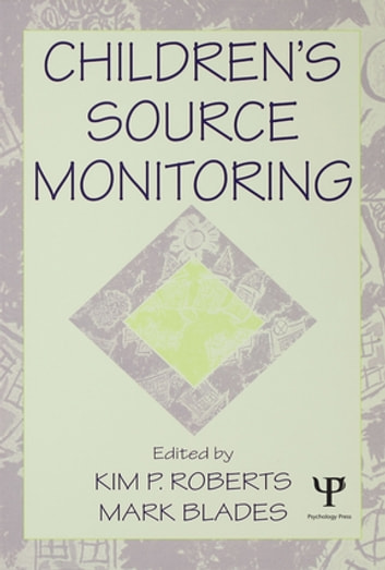 Children's Source Monitoring ebook by