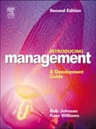 Introducing Management ebook by Bob Johnson