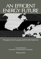 An Efficient Energy Future - Prospects for Europe and North America ebook by Yong Zhou