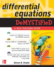 Differential Equations Demystified ebook by Krantz, Steven