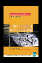 Interviewing & Counselling ebook by Chapman, Jenny