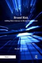 Brand Risk ebook by David Abrahams