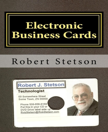 Electronic Business Cards ebook by Robert Stetson