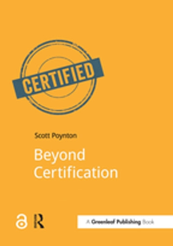 Beyond Certification ebook by Scott Poynton