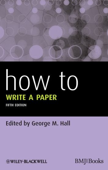 How To Write a Paper ebook by