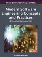Modern Software Engineering Concepts and Practices ebook by Ali H. Dogru,Veli Biçer