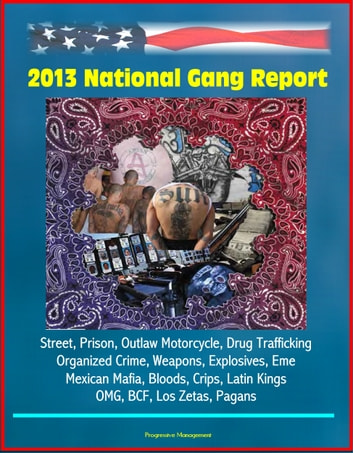 2013 National Gang Report: Street, Prison, Outlaw Motorcycle, Drug  Trafficking, Organized Crime, Weapons, Explosives, Eme, Mexican Mafia,  Bloods,