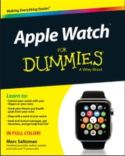 Apple Watch For Dummies ebook by Marc Saltzman