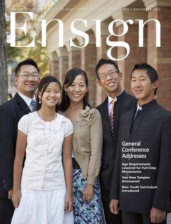 Ensign, November 2012 ebook by The Church of Jesus Christ of Latter-day Saints
