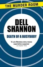 Death of a Busybody ebook by Dell Shannon