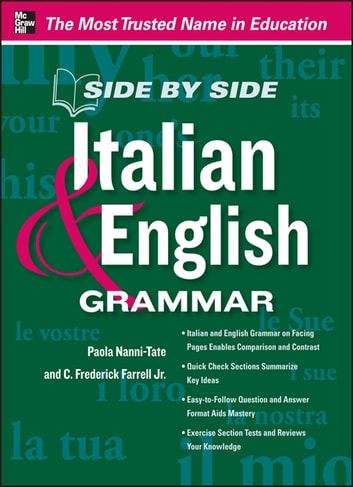 Side by Side Italian and English Grammar ebook by Paola Nanni-Tate