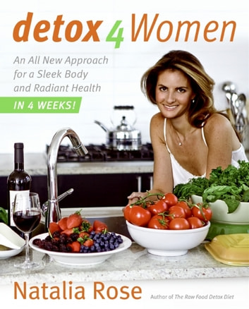 Detox for Women - An All New Approach for a Sleek Body and Radiant Health in 4 Weeks ebook by Natalia Rose