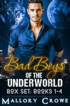 Bad Boys Of The Underworld Box Set: Books 1-4 - Bad Boys Of The Underworld ebook by Mallory Crowe