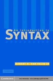 An Introduction to Syntax ebook by Valin, Jr, Robert D. van
