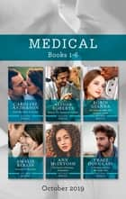 From Heartache to Forever/Melting the Trauma Doc's Heart/His Surgeon Under the Southern Lights/Reunited in the Snow/The Nurse's Christmas Te ebook by Caroline Anderson, Alison Roberts, Amalie Berlin,...