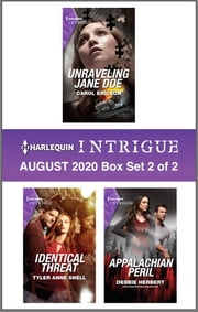 Harlequin Intrigue August 2020 - Box Set 2 of 2 ebook by Carol Ericson, Tyler Anne Snell, Debbie Herbert