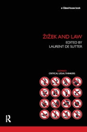 Zizek and Law ebook by Laurent de Sutter
