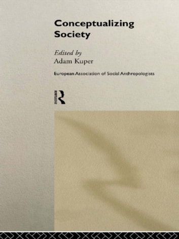 Conceptualizing Society ebook by