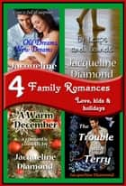 4 Family Romances Book Bundle 電子書 by Jacqueline Diamond