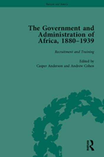 """The Government and Administration of Africa, 1880?939 Vol 1 "" ebook by Casper Anderson"