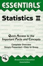 Statistics II Essentials ebook by Emil Milewski