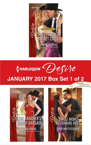 Harlequin Desire January 2017 - Box Set 1 of 2 - An Anthology 電子書 by Maureen Child,Sara Orwig,Sheri WhiteFeather