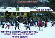 Ottawa Winterlude Festival - Skiing Edelweiss Resort Photo Album - Feb 22, 2007 (English eBook C3) ebook by Vinette, Arnold D