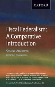 Fiscal Federalism ebook by George Anderson