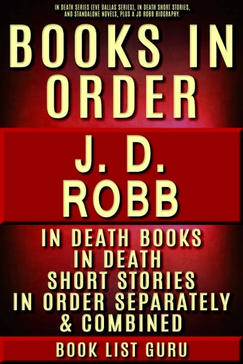 Jd Robb Books In Order Series Eve Dallas