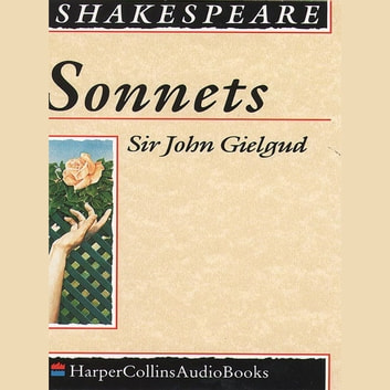 Sonnets audiobook by William Shakespeare