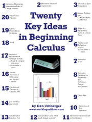 Twenty Key Ideas in Beginning Calculus ebook by Umbarger, Dan