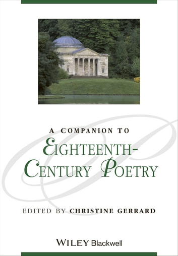 A Companion to Eighteenth-Century Poetry ebook by