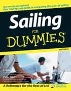 Sailing For Dummies eBook by J. J. Isler, Peter Isler