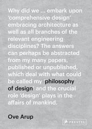 Ove Arup - A Philosophy of Design ebook by Prestel Verlag