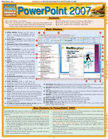 Powerpoint 2007 ebook by BarCharts,Inc