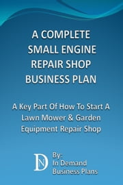 how to set up a lawn mower repair shop
