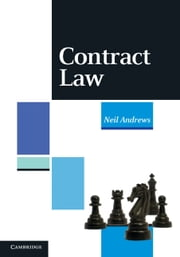 Contract Law ebook by Andrews, Neil, Barrister