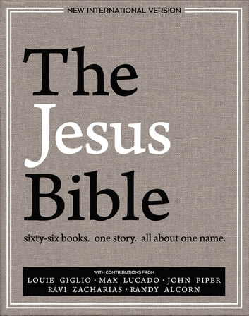 The Jesus Bible, NIV Edition, eBook ebook by Passion