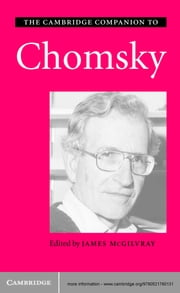 The Cambridge Companion to Chomsky ebook by James McGilvray