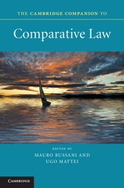 The Cambridge Companion to Comparative Law ebook by Mauro Bussani,Ugo Mattei