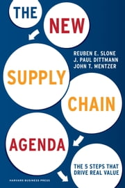 The New Supply Chain Agenda - The 5 Steps That Drive Real Value ebook by Reuben Slone,Paul J. Dittmann,John T. Mentzer