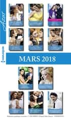 11 romans Azur + 1 gratuit (n°3927 à 3937 - Mars 2018) ebook by Collectif