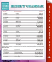 Hebrew Grammar (Speedy Language Study Guides) ebook by Speedy Publishing